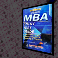 MBA Entrance Test Guide for Punjab Univeristy and Hailey College by Dogar Publishers