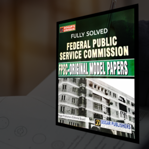 FPSC Solved Papers Guide