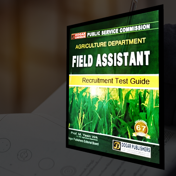 FPSC Field Assistant- Agriculture Department